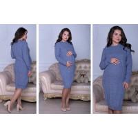 Платье для беременных вязаное