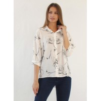 Блузка комбинированная для беременных
