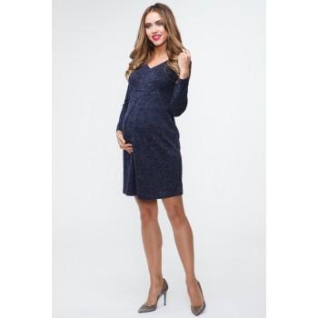 Платье для беременных и кормящих деним