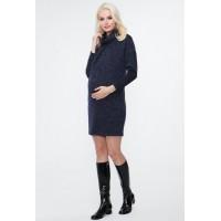 Платье для беременных и корм. Воротник гольф
