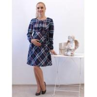 Платье для беременных клетка